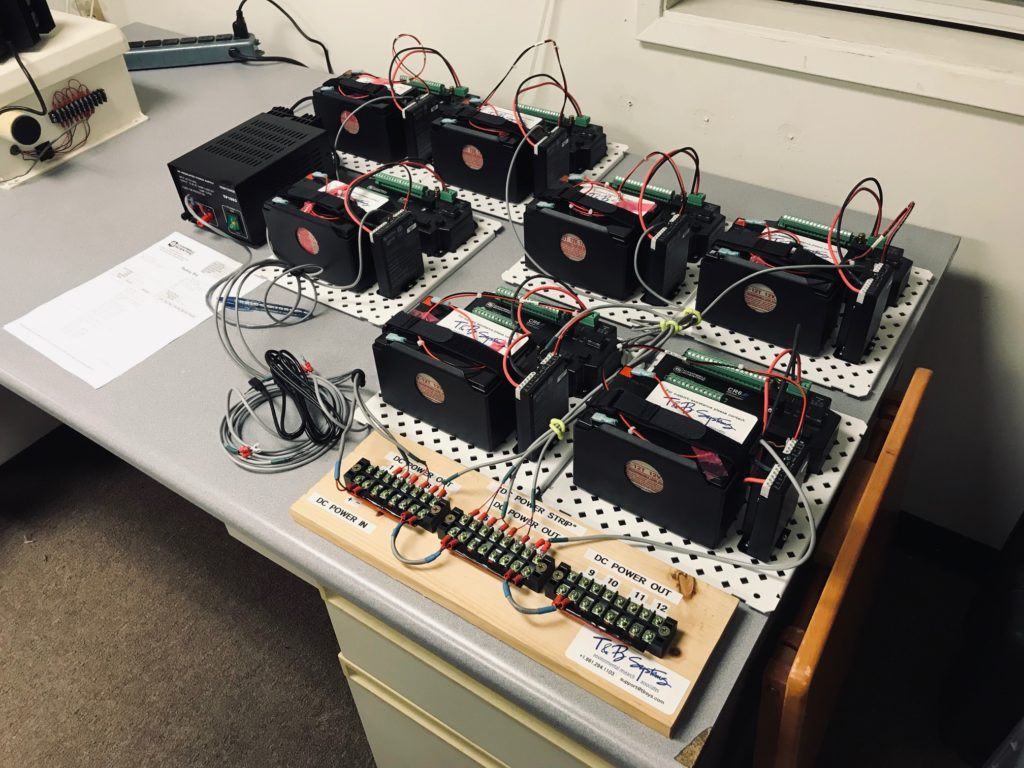 CR6 Testing Setup